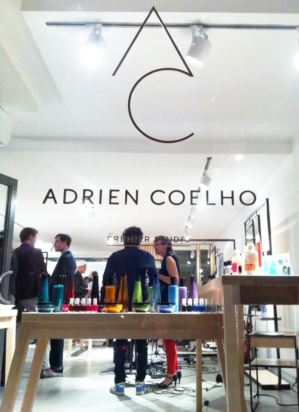 Adrien Coelho logotype identity hairdresser brussels graphic design 1