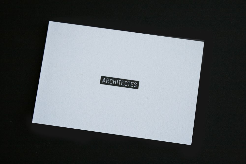 Architects Business Cards. Logo And Business Card Design By Hi Ho ...
